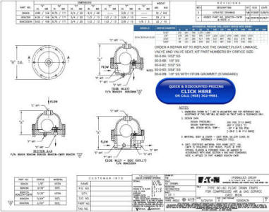 90-AC Cast Iron Float Drain Trap Drawing and Specifications