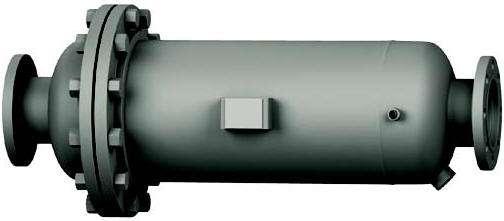 Horizontal coalescer centrifugal separator