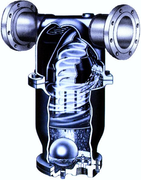 Cutaway of Wright-Austin ST Separator